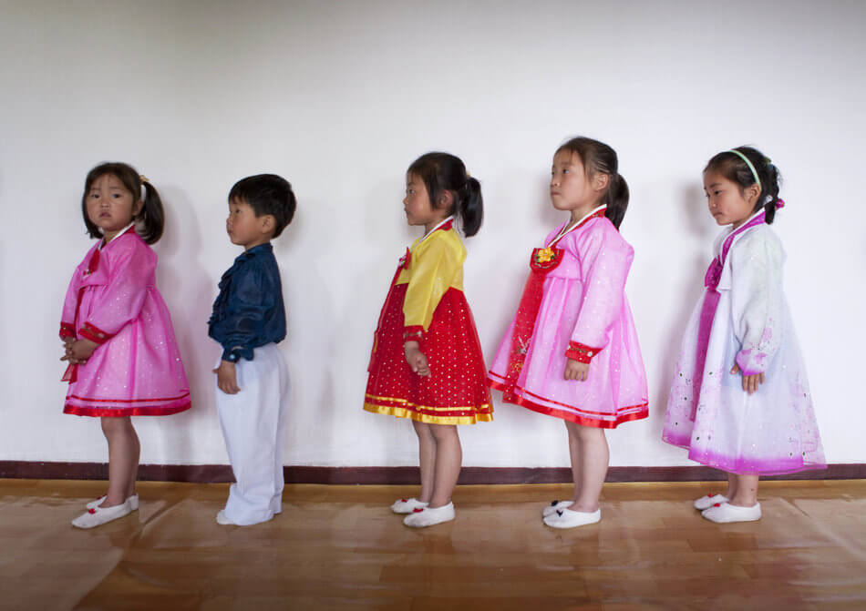 55 Stunning Photographs Of Girls Going To School In Different Countries - North Korea