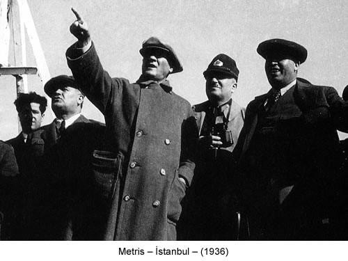Atatürk Metris 1936 Fotoğraf