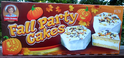 The Holidaze 2012 Little Debbie Fall Treats