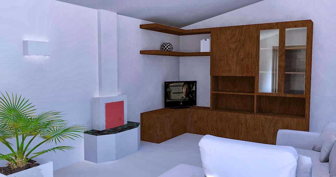 Mobile da soggiorno progettato e realizzato in fabbrica for Fabbrica mobili