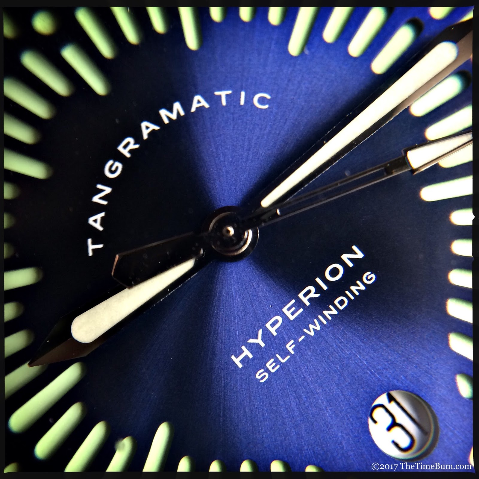 Tangramatic Hyperion automatic date macro