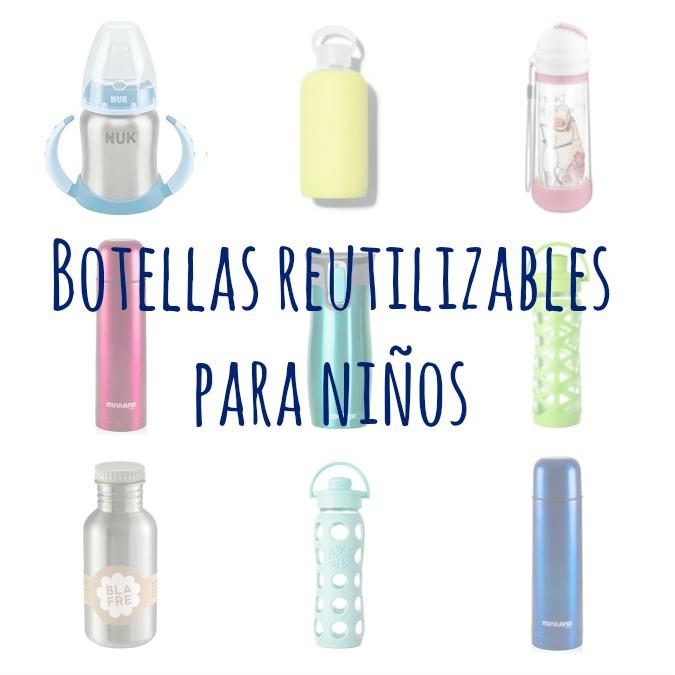 botellas reutilizables para niños