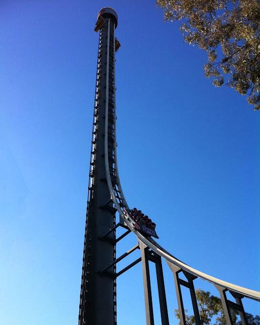 Torre do Terror II - Parque Dreamworld - Gold Coast - Queensland - Austrália