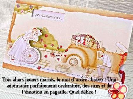 Carte Mariage Humoristique Gratuite à Imprimer