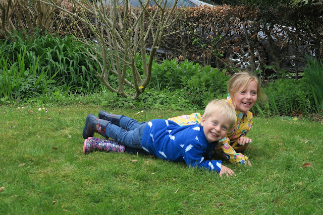 lily and alexander falling around