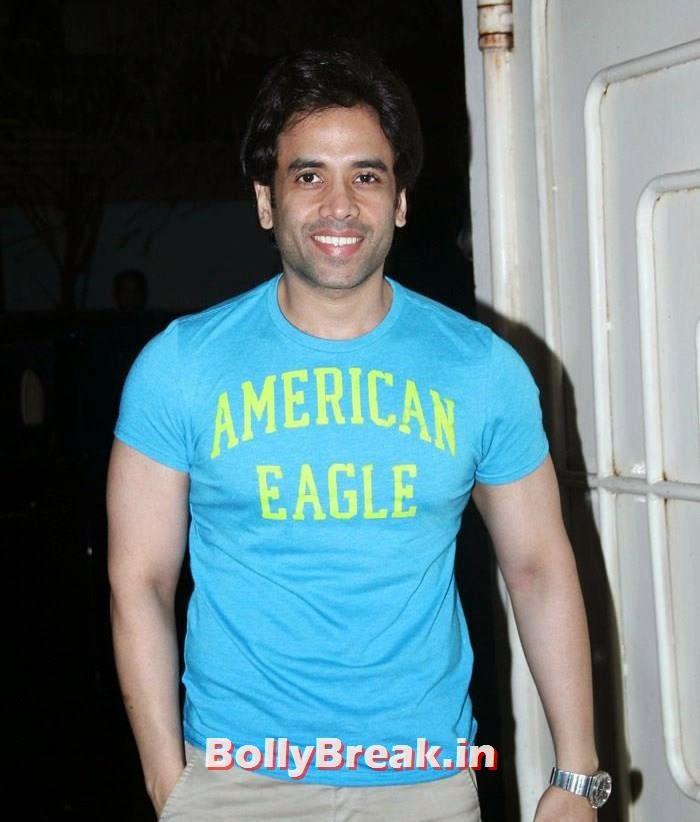 Tusshar Kapoor, 'It's Entertainment' Movie Special Screening Pics