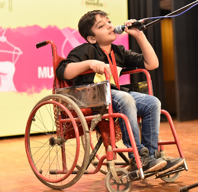 Special Children performing at VIHAAN 2016