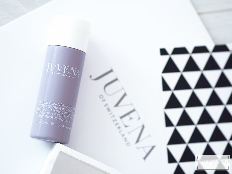JUVENA MIRACLE CLEANSING  WATER