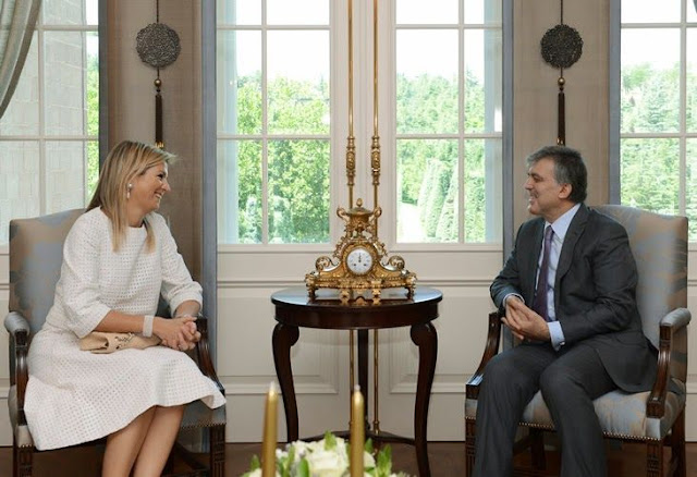 Turkish President Abdullah Gül met with Queen Maxima