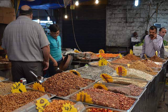 Souk aux fruits et légumes à Amman