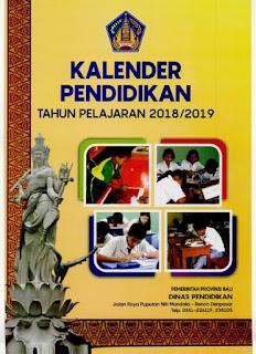 Kalender Pendidikan Bali 2018/2019
