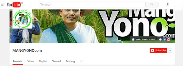 MANGYONOcom Channel di YouTube