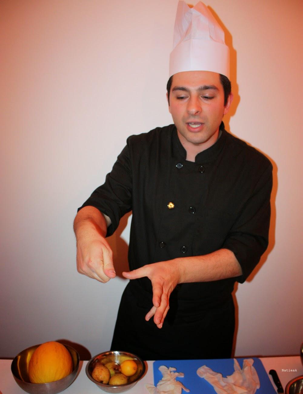 Le chef Fernando Maria