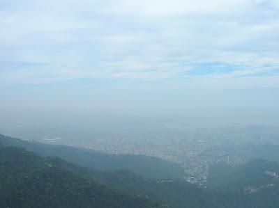 Vistas desde Cristo Corcovado, Rio de Janeiro, Brasil, La vuelta al mundo de Asun y Ricardo, round the world, mundoporlibre.com
