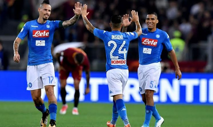Dove Vedere NAPOLI-ROMA Streaming Video Gratis Online