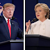 Hillary Clinton and Donald Trump presidential debate Question and Answers