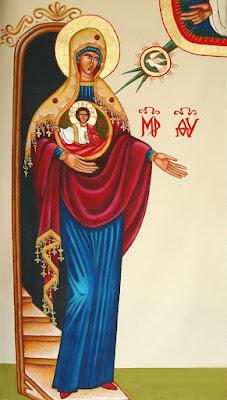 Kekaritomene Ícones para grupo de oração, seminário de vida no Espírito Santo e eventos