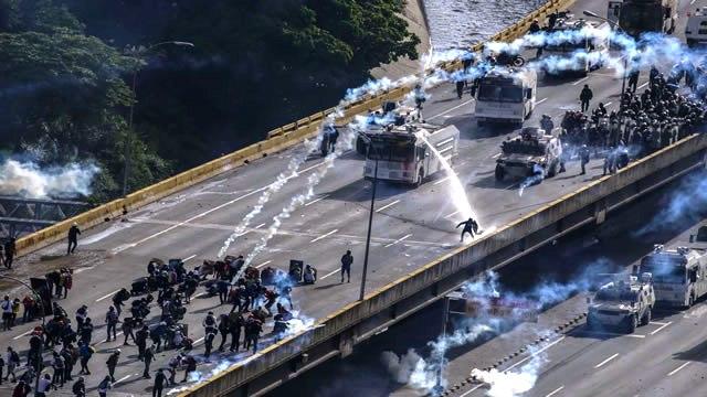 Human Rights Watch presenta VÍDEO sobre la brutal represión contra el pueblo de Venezuela