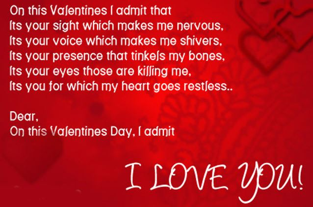 Valentines Day Card Messages 2017 Valentine day SMS in English