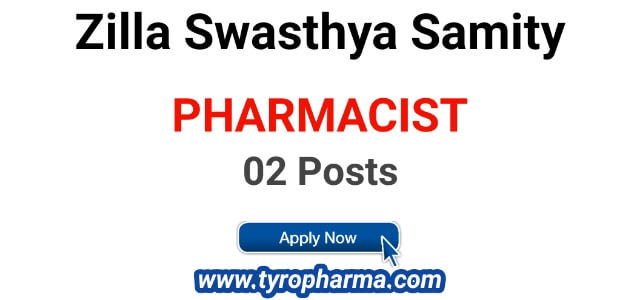 Pharmacist Job in Zilla Swasthya Samiti, Bargarh