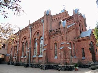 Житомир. Бывшая кирха. 1896 г. Церковь евангельских христиан