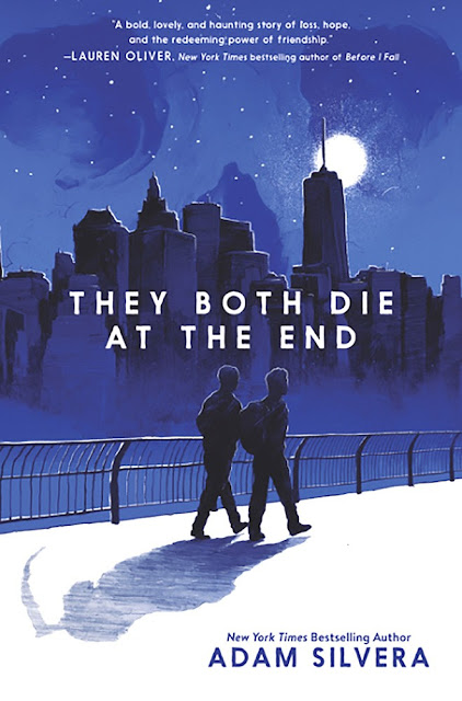 Beautiful 2017 Book Cover Designs  They Both Die At The End Adam Silvera