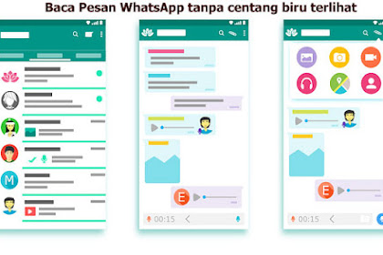 6 Cara Baca Pesan Whatsapp Tanpa Centang Biru Terlihat