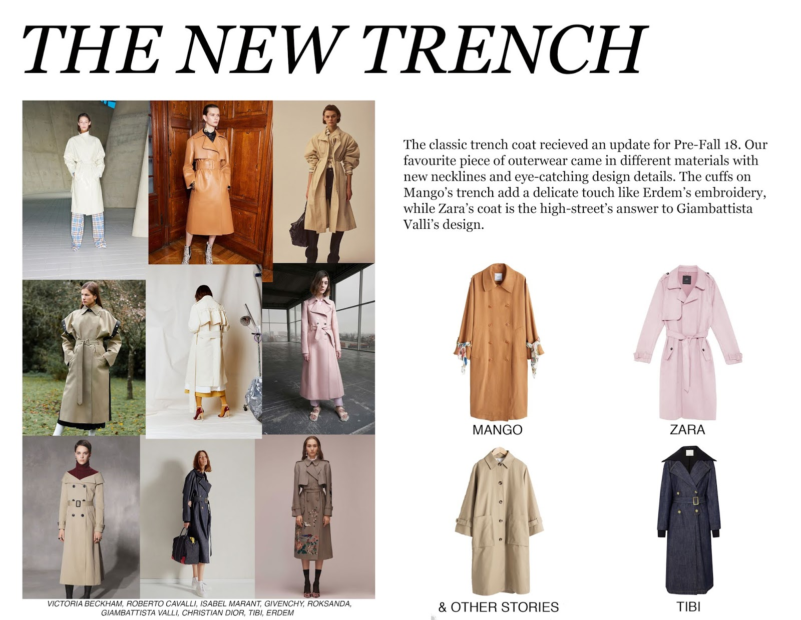 Pre-Fall 18, Inspiration, Trend, Trend Piece, Animal Print, Monochrome, Pleating, Trench Coat, PF18, Fashion, Fashion Blog, Laura Rebecca Smith