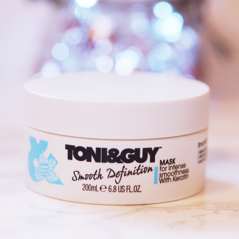 toni and guy smooth defintion hair mask