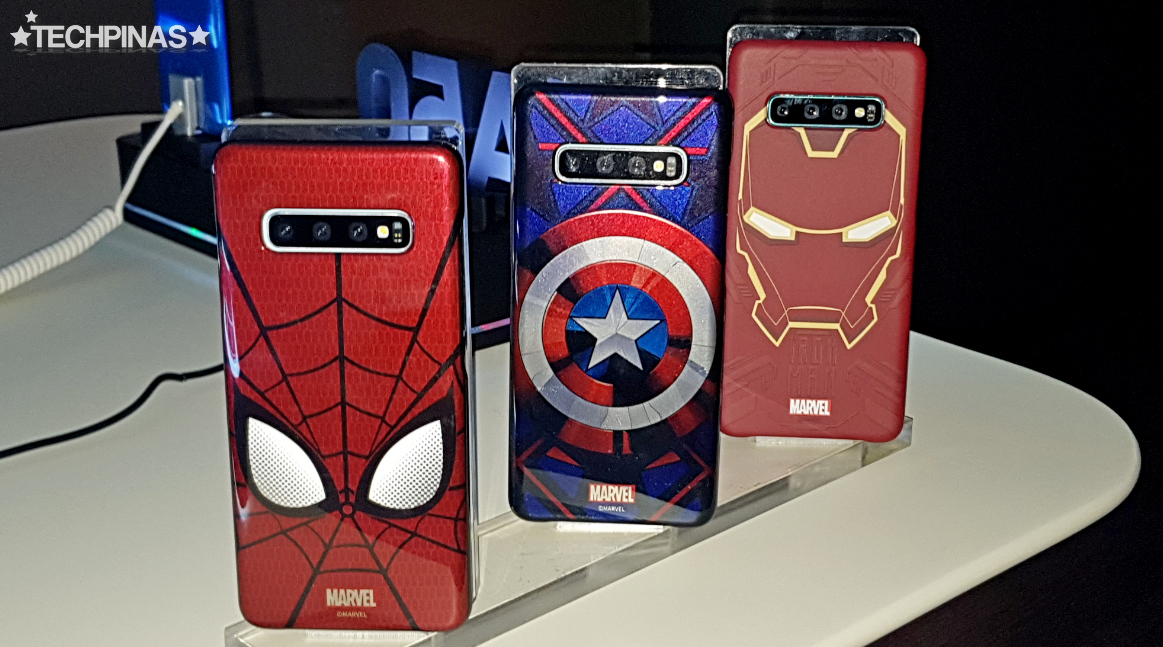 Samsung Galaxy S10 Marvel Avengers Endgame Smart Cover Case