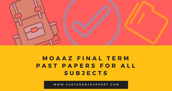 MGT101 FINANCIAL ACCOUNTING MIDTERM PAST PAPERS | Urdu