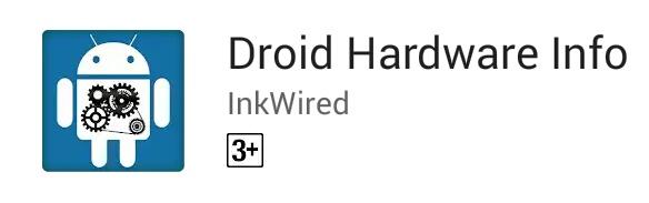 Hardware info