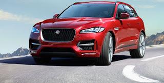 dimensioni jaguar f-pace anteriore