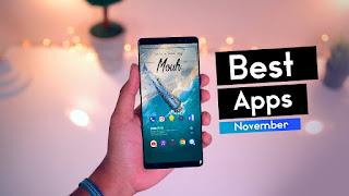 افضل 5 تطبيقات الاندرويد لشهر نوفمبر 2018 | Apps November