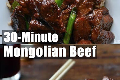 Fast and Simlpe, 30-Minute Mongolian Beef