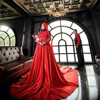 Gaun Pernikahan Kebaya Mewah