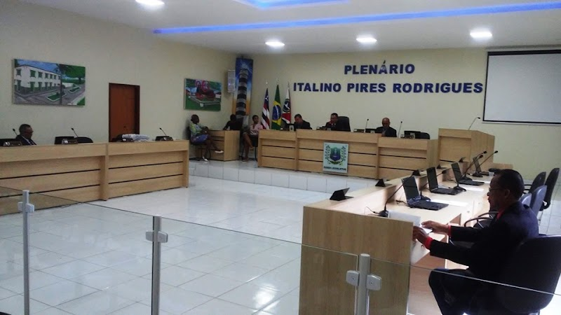 Sessão solene da câmara de Cururupu é marcada pela ausência de vereadores e entrega de acessórios oficiais aos presentes.