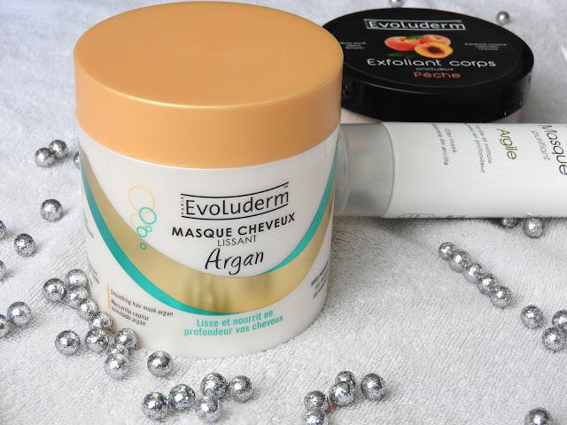 Masque cheveux lissant à l'argan - Evoluderm