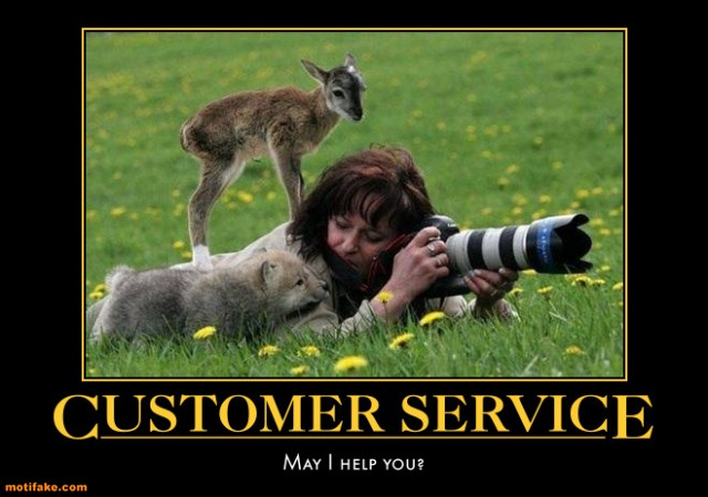 Inspirational Customer Service Quote Humor: Funny Picture Clip: Humorous Motivational Posters Quotes