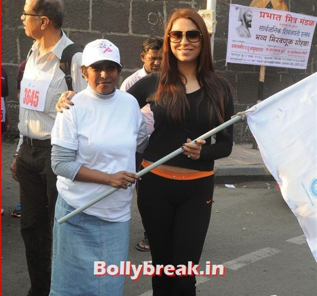Femina Marathon-Run to Save The Girl Child, Run for the Change, Pooja Misra at Femina Marathon-Run to Save The Girl Child