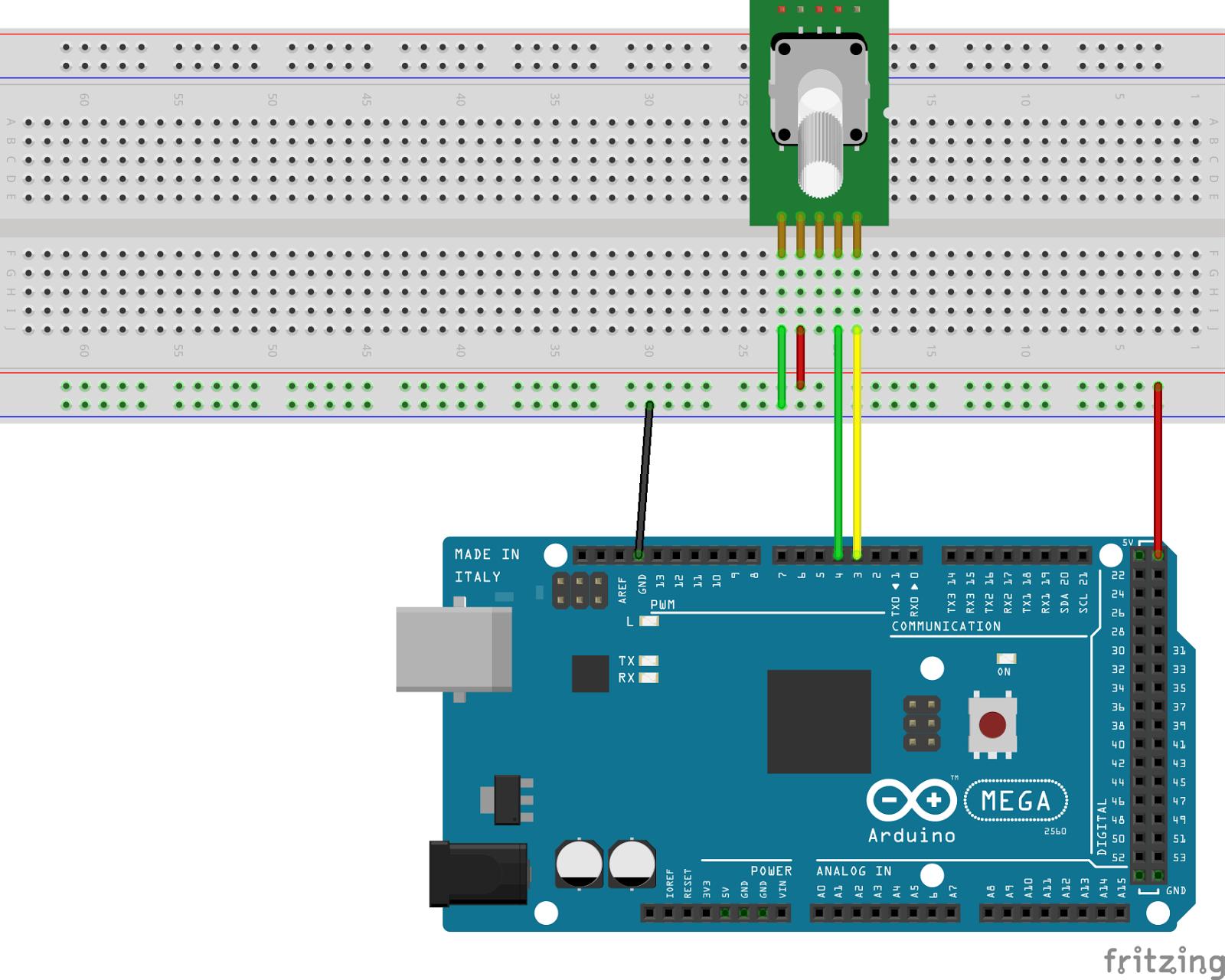 Arduino Mega 2560 Circuit Diagram Avian Anatomy Labeled Viper Encoder And Motors Matlab Simulink Incremental