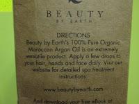 Info: Argan Oel - Biologisches Oel aus Marokko, 4 oz - Kalt gepresst und ausgezeichnete Feuchtigkeitsspendung fuer Haare, Haut, Nägel; Zur Behandlung von Frizz, vorzeitiger Hautalterung und Falten. Importiert aus Marokko von Beauty by Earth