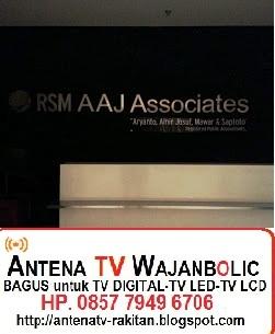 Jual ANTENA TV WAJANBOLIC  RSM AAJ Associates Jakarta
