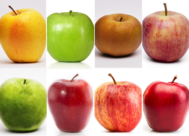 Las manzanas: Variedades para todos los gustos