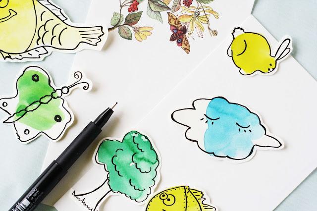 DIY Sticker selber malen