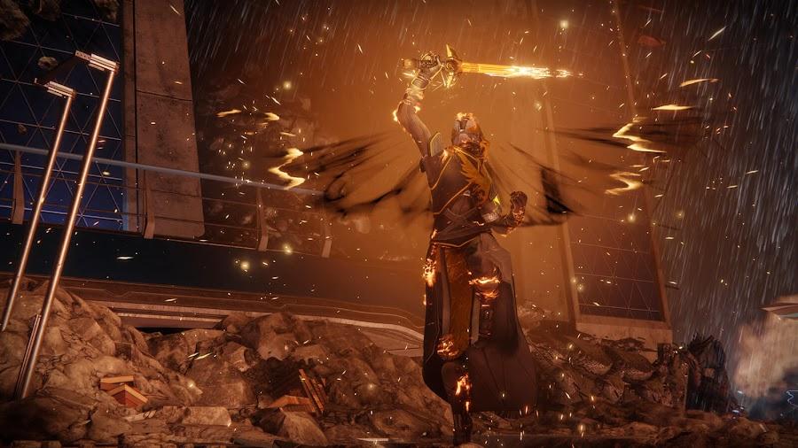 destiny 2 go fast warlock dawnblade subclass