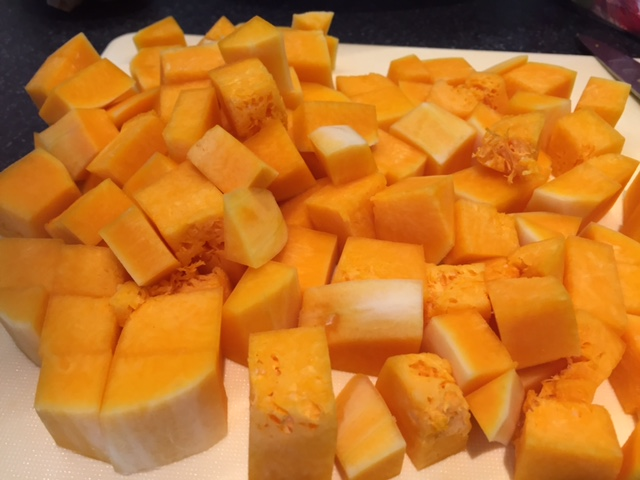 Chopped Butternut Squash
