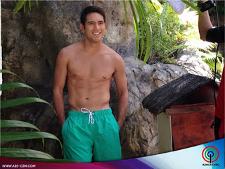 Gerald Anderson shirtless for Dyesebel
