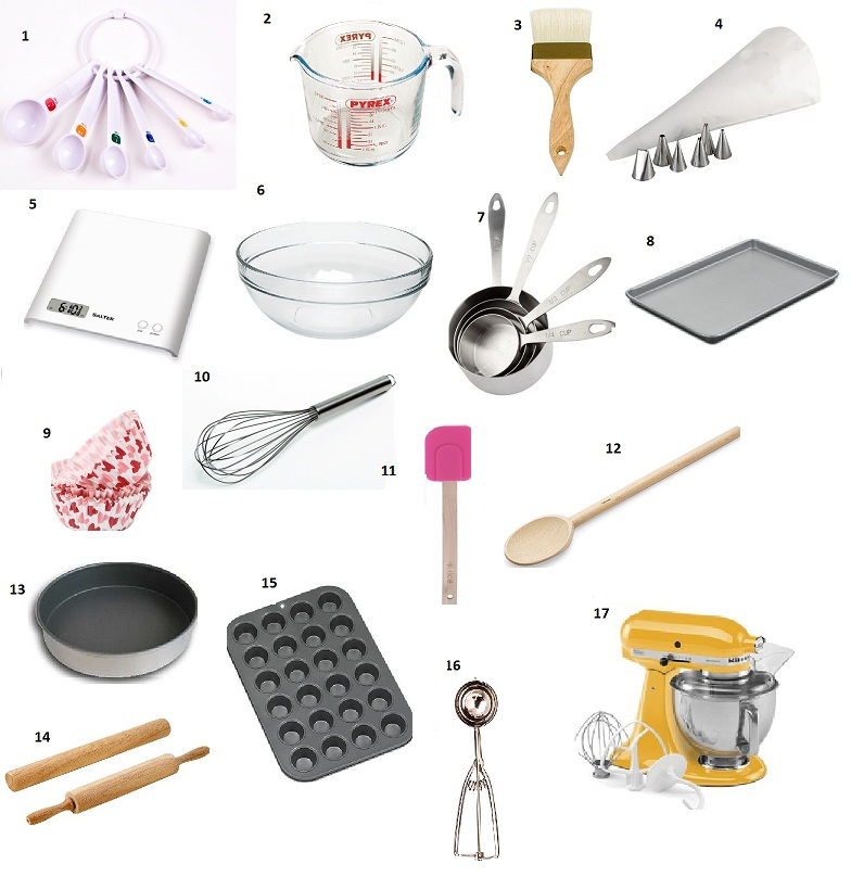 Cake Baking Tools And Equipment