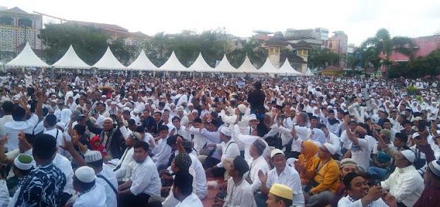 Dinanti Ribuan Massa, Prabowo Batal Hadiri Peringatan Isra Mi'raj di Medan, Ini Alasannya